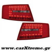 Φανάρι Πίσω Red Crystal Led Audi A6 Lim 04-08