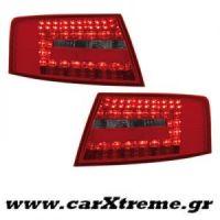 Φανάρι Πίσω Red Smoke Led Audi A6 Lim 04-08