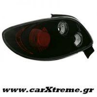 Φανάρι Πίσω Μαύρο Peugeot 206CC 98-09