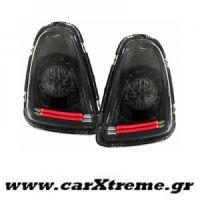 Φανάρι Πίσω Μαύρο Led Mini Cooper R56 R57 Cabrio 06-10