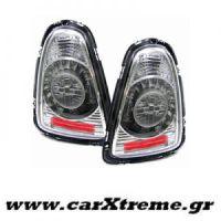 Φανάρι Πίσω Chrome Led Mini Cooper R56 R57 Cabrio 06-10