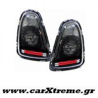 Φανάρι Πίσω Black Clear Led Mini Cooper R56 R57 Cabrio 06-10