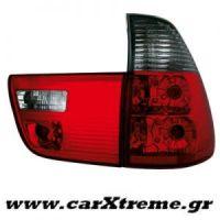 Φανάρι Πίσω Red Black BMW X5 00-02 (4 τεμάχια)