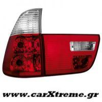 Φανάρι Πίσω Red Crystal BMW X5 00-02 (4 τεμάχια)