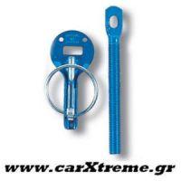Γάντζοι Καπό Bonnet Pins Μπλε Sparco