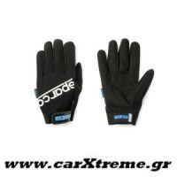 Γάντια Συνεργείου Work Gloves Μαύρα Sparco