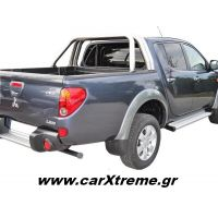 Roll-Bar INOX L200 (TRITON) 2006+ Φ60 3 Σκελών