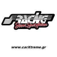 Αυτοκόλλητο Μαύρο-Κόκκινο Simoni Racing