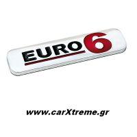 Τρισδιάστατο Αυτοκόλλητο Euro 6