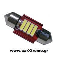 Σωληνωτός Led Canbus 12V 6-SMD