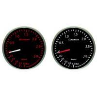 Μπαρόμετρο αυτοκινήτου Deamon Red - White 60mm