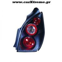 Φανάρια αυτοκινήτου πίσω μαύρα Citroen C2 '02 <