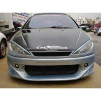 Carbon 3M Καπό Peugeot 206