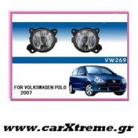 Προβολείς Ομίχλης VW Polo 9N 2007