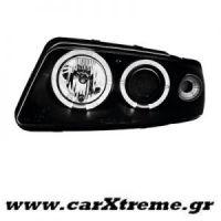 Φανάρι Εμπρός Μαύρο Audi A4 99-01