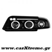 Φανάρι Εμπρός Μαύρα Audi A4, B5 95-98