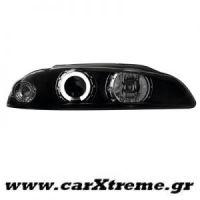 Φανάρι Εμπρός Μαύρο Mitsubishi Eclipse 97-99