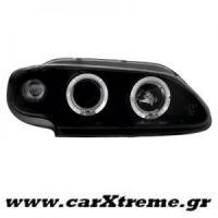 Φανάρι Εμπρός Μαύρο Renault Megane 3 5D 96-99