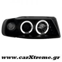 Φανάρι Εμπρός Μαύρο Seat Ibiza 6K 93-00