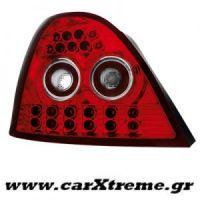 Φανάρι Πίσω Κόκκινο Crystal Led Rover 200 95-00