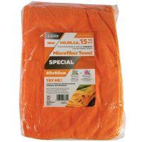 Microfiber Special Orange 40x60 15τμχ 300GSM