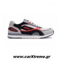 Sparco Αθλητικά Παπούτσια SH-17 001262NRRS Μαύρο / Κόκκινο