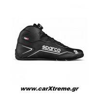 Sparco K-Pole WP Αγωνιστικά Παπούτσια Kart 001269WPNRNR Μαύρο