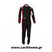 Sparco Φόρμα Kart Thunder Youth 002342BNRRS Μαύρο/Κόκκινο
