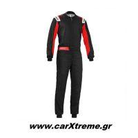 Sparco Φόρμα Kart Rookie 002343NRRS Μαύρο/Κόκκινο