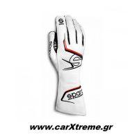 Sparco Arrow Γάντια Kart 002557BINR Λευκό/Μαύρο