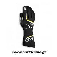 Sparco Arrow Γάντια Kart 002557NRGF Μαύρο/Κίτρινο