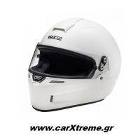 Sparco GP KF-4W CMR Κράνος Kart Λευκό 003358