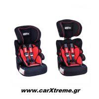 Παιδικό Κάθισμα Αυτοκινήτου Race Sport Μαύρο/Κόκκινο (Grous 1-2-3) RS123RN