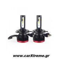 H4 BF-SERIES 8-32V 50W ETi-1860 2x25W 6.000K 3100lm Λάμπα LED με Ανεμιστηράκι 2 τεμ
