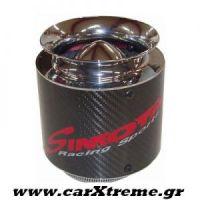 Φιλτροχοάνη αυτοκινήτου Simota Carbon racing sports 130/150 Φ 77