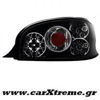 Φανάρι Πίσω Μαύρο Led Citroen Saxo 96-00