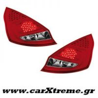 Φανάρι Πίσω Red Crystal Led Ford Fiesta MK 7 5T  08+