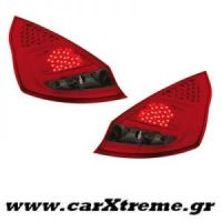 Φανάρι Πίσω Red Smoke Led Ford Fiesta MK 7 5T  08+