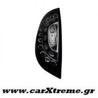 Φανάρι Πίσω Μαύρο Led Ford Focus 98-04