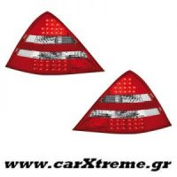 Φανάρι Πίσω Red Crystal Led Mercedes Benz SLK R170 96-04