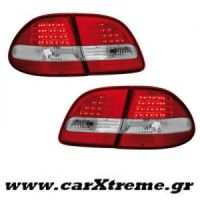 Φανάρι Πίσω Red Crystal Led Mercedes Benz E Class W211 T (Station Wagon) 06-09