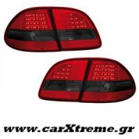 Φανάρι Πίσω Red Smoke Led Mercedes Benz E Class W211 T (Station Wagon) 06-09