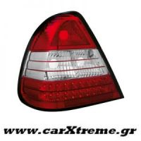 Φανάρι Πίσω Red Crystal Led Mercedes Benz C Class W202 94-00