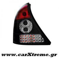 Φανάρι Πίσω Led Μαύρο Renault Clio II 98-01