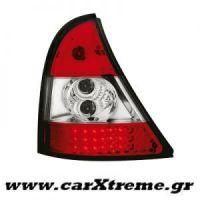 Φανάρι Πίσω Red Crystal Led Renault Clio II 98-01