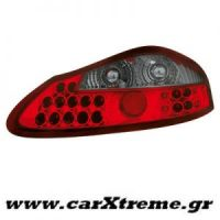 Φανάρι Πίσω Red Crystal Led Porsche Boxter 986 96-04