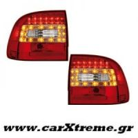 Φανάρια Πίσω Red Crystal Led Porsche Cayenne 03-07