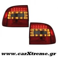 Φανάρι Πίσω Red Crystal Led Porsche Cayenne 03-07