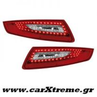 Φανάρι Πίσω Red Crystal Led Porsche 911 997 04-08