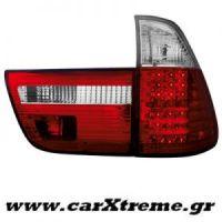 Φανάρι Πίσω Red Crystal Led BMW X5 00-02